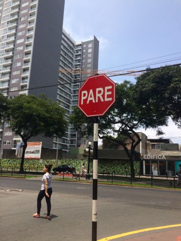 """Quebec and South America: only places I've been where the stop signs don't say """"stop."""""""