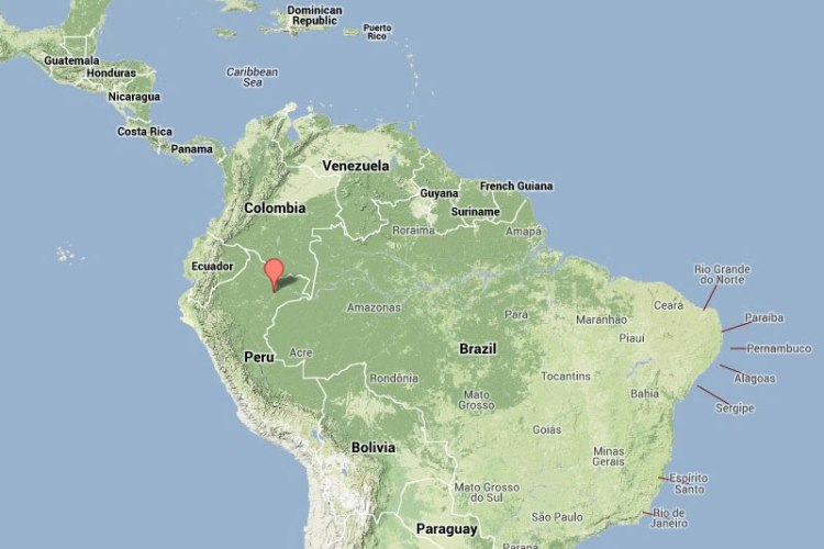 iquitos-on-map