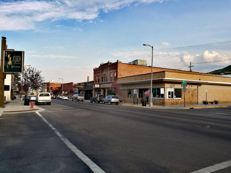 Downtown Anaconda.