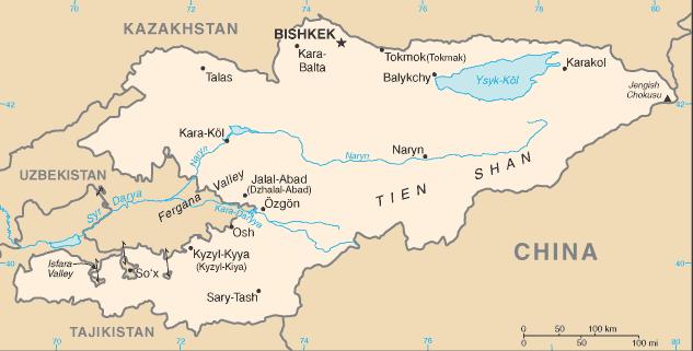 kyrgyzstan-cia_wfb_map